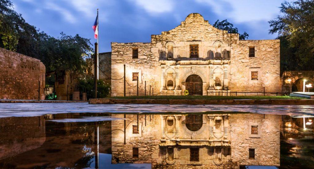 Texas, The Alamo, The Recover